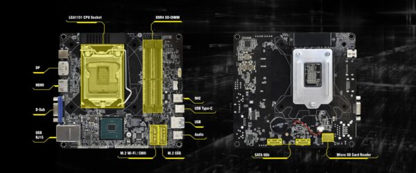 2 1 600x250 - ASRock DeskMini 310, i5, 8GB, 250GB