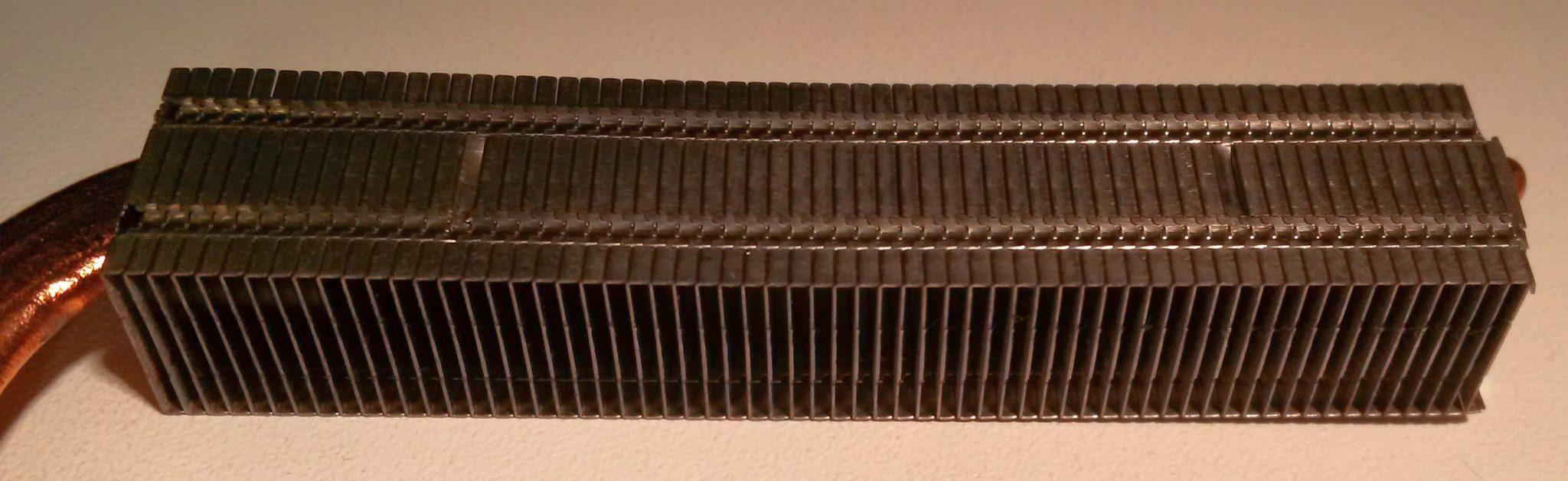 Støv i køler 5 - Værksted