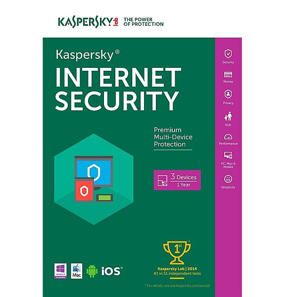 Kaspersky Internet Security 3 bruger