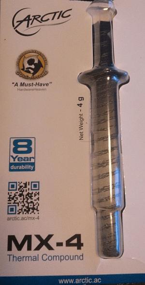 Værksted-MX4 kølepasta