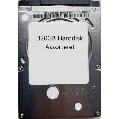 320GB Harddisk Assorteret