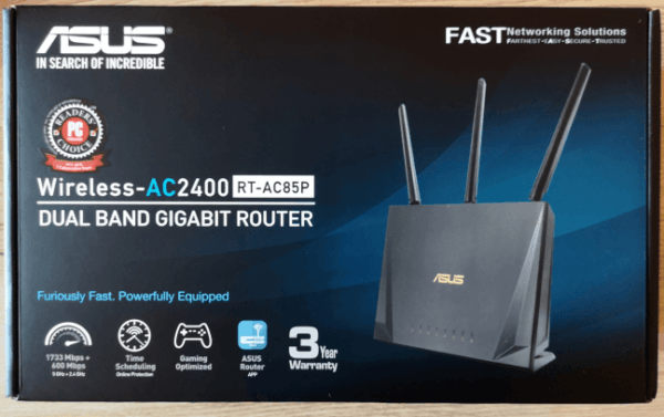 ASUS RT-AC85P - Trådløs router