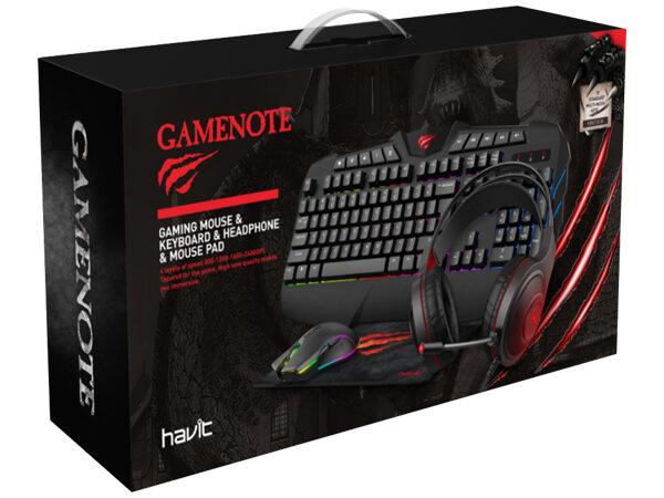 Havit KB675CM 600x450 - Gamer PC ASRock Z390 Phantom Gaming 4S, i5, 8GB, 512GB