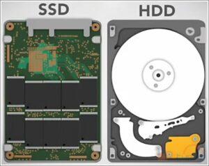 SSD HDD 300x239 - Computer reparation - Salg af nye og brugte computere