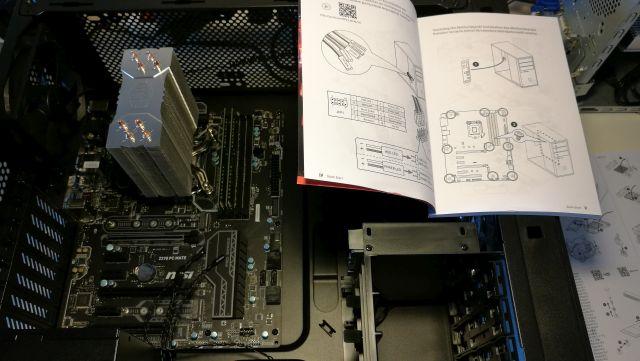 Samling af computer 2 - Værksted