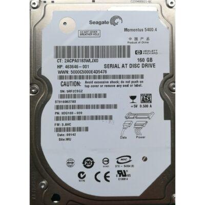 "Seagate 2.5"" Harddisk 160GB 9,5mm"