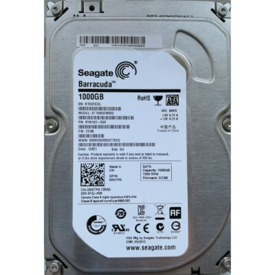 Seagate Barracuda 3.5 Harddisk 1TB