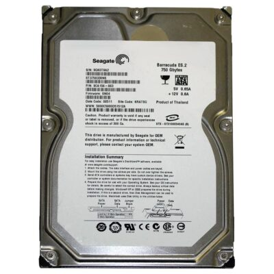 Seagate Barracuda 3.5 Harddisk 750GB