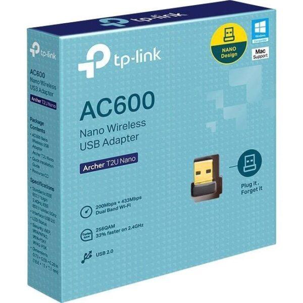 TP-Link WL 600 USB Dual Band Archer T2U nano