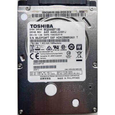 Toshiba 2.5 Harddisk 1TB 7mm