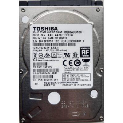 Toshiba 2.5 Harddisk 1TB SSHD 9,5 mm