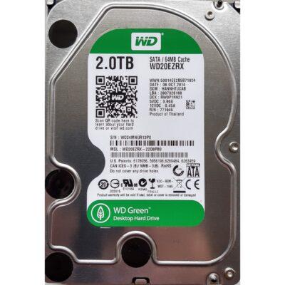 WD Green 3.5 Harddisk 2 TB